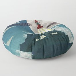 Tracy Island Floor Pillow