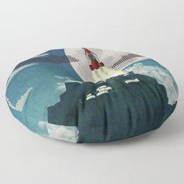 Tracy Island Floor Pillow