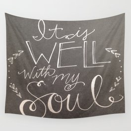 It is well... Wall Tapestry
