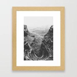 CANYONLANDS / Utah Framed Art Print