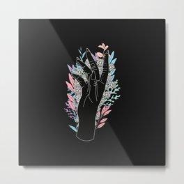 Blooming Day - Illustration Metal Print
