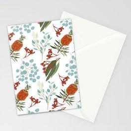 Australian Botanicals - White Stationery Cards