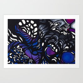 Twisted Energy Art Print