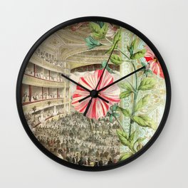 A Night At The Theatre Wall Clock