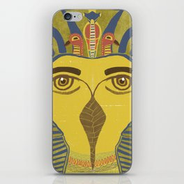 King Tut Bird iPhone Skin