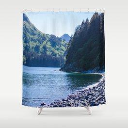Kodiak Beach Photography Print Shower Curtain