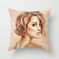 Marion Cotillard Throw Pillow
