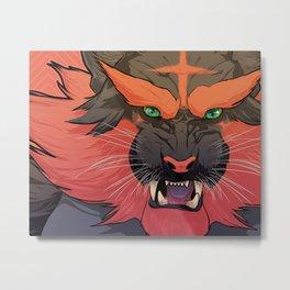 The Fire Starter Metal Print