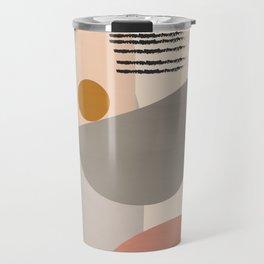Modern Art Travel Mug