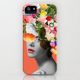 Orange Lady iPhone Case