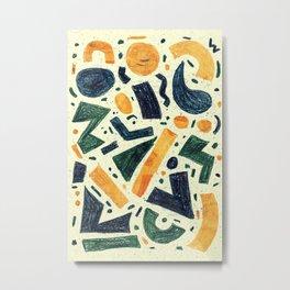 Pattern № 96 Metal Print