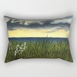 Sunset at Cape May Rectangular Pillow
