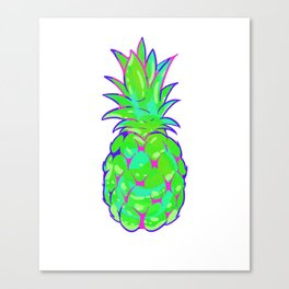 EDM Rave Pineapple product Canvas Print
