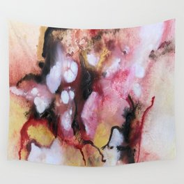 Abstract 1 by Saribelle Wall Tapestry
