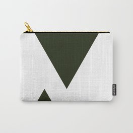 Abstract Black Carry-All Pouch