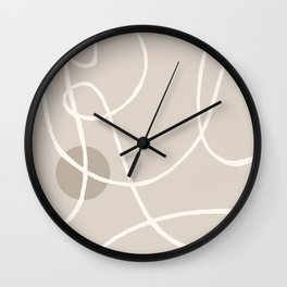 Laced up 2 Wall Clock