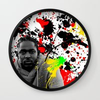 literature Wall Clocks featuring Literature by Kerosene Bill