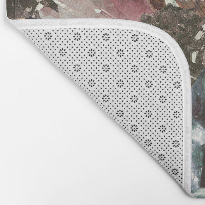 Crystal Collage Bath Mat