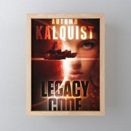 Legacy Code Book Cover Print Framed Mini Art Print