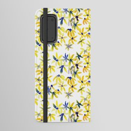 Blue Eyed Susan Android Wallet Case
