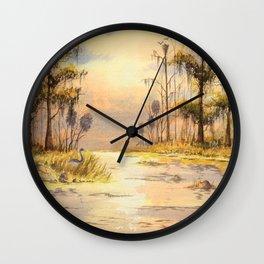 Southern States Sunrise Wall Clock