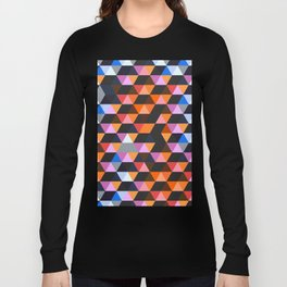 Funky Geometric Long Sleeve T-shirt