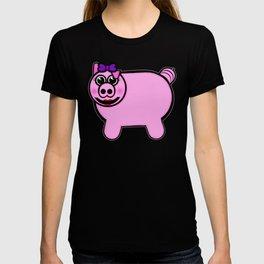 Girly Stuffed Pig T-shirt