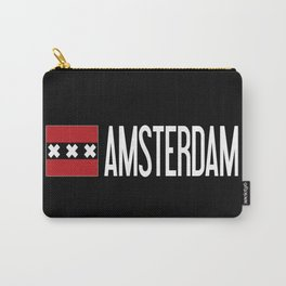 Netherlands: Amsterdam Flag & Amsterdam Carry-All Pouch
