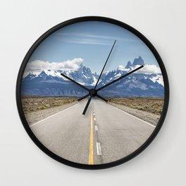 El Chaltén - Patagonia Argentina Wall Clock