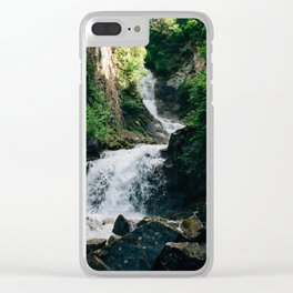Lower Reid Falls Clear iPhone Case