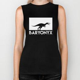 Baryonyx Dinosaur Biker Tank