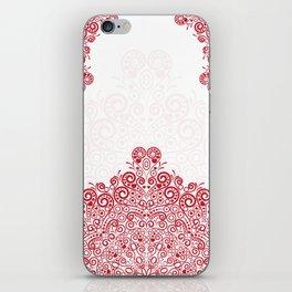 Mandala background iPhone Skin