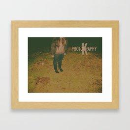 K Photography Logo-1 Framed Art Print