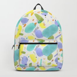 Chubby Watercolor marks Backpack