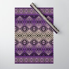 The Lodge (Purple) Wrapping Paper