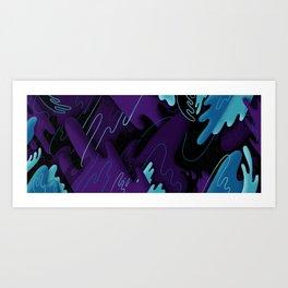 Galaxy Six Art Print