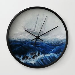 An Apparition Wall Clock