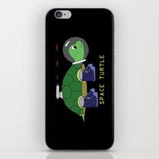 Space Turtle iPhone & iPod Skin
