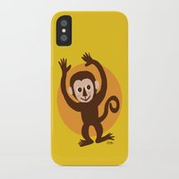 monkey island iPhone & iPod Cases featuring Monkey by BATKEI