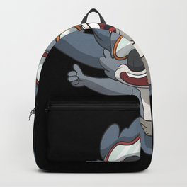 Parachutist tandem Backpack