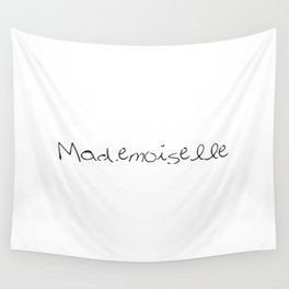 Madmoiselle Wall Tapestry