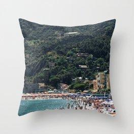 Italian Summer Throw Pillow