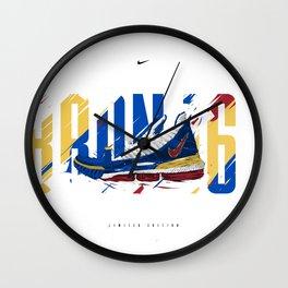 Lebron 16 SB Profil Wall Clock