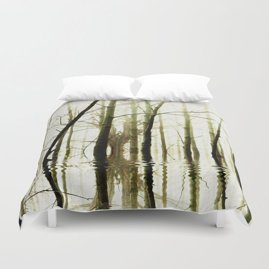 TREE TONES Duvet Cover