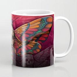 """Death colored moth"" Coffee Mug"