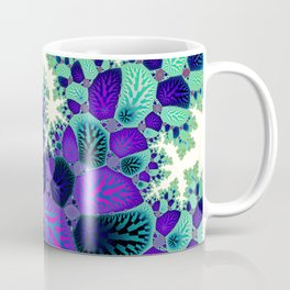 Leafy Nosegay Fractal Coffee Mug