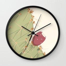 S01 - Cactus Wall Clock