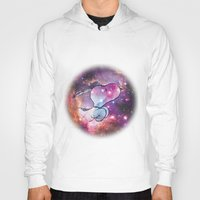 snoopy Hoodies featuring Space Snoopy by Yildiray Atas