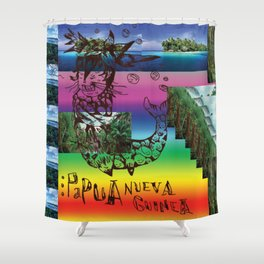 papuacatfish Shower Curtain