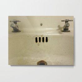 Sink Metal Print